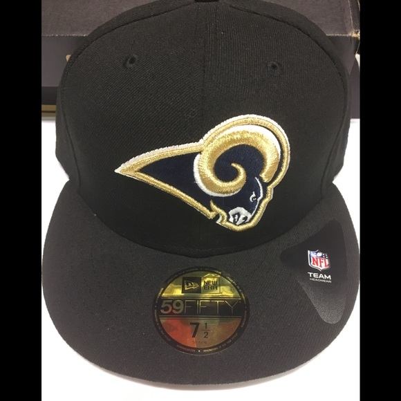 0d052066cc5 Los Angeles Rams new era fitted hat size 7 1 2